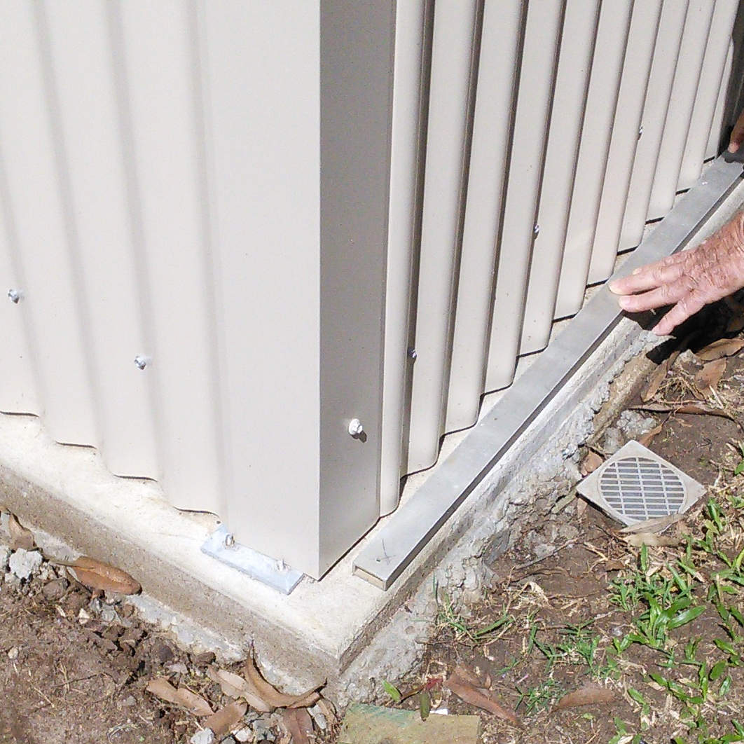 News and blog sealing a garden shed with adhesive neoprene for How to seal concrete floor