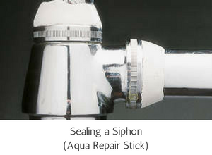 Epoxy Putty Repair Stick Aqua - Sealing a Siphon