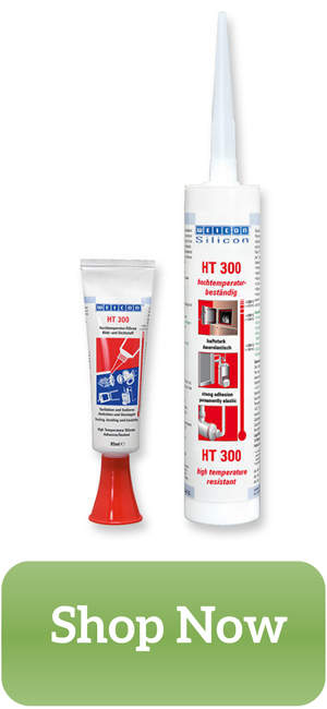 Weicon HT 300 High Temperature Resistant Silicone Adhesive and Sealant