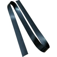 Natural Rubber Insertion Strip 6mm Thick x  75mm Wide (Per Metre)