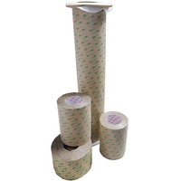 3M 467MP Double Sided Adhesive Transfer Tape - 200mm Wide x 55 Metres