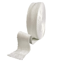 Fibreglass Exhaust Wrap Tape - 3mm Thick x 50mm Wide x  5 Metres Long