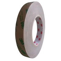 3M 468MP Double Sided Adhesive Transfer Tape - 200mm Wide x 55 Metres