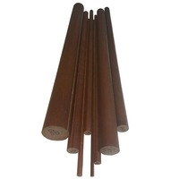Fabric Bakelite Rod  10mm Diameter x 1000mm Long
