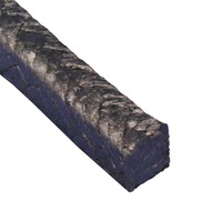 Graphite Packing Style 5000 (100% Graphite) - 16mm Square (Per Metre)