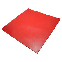 Chutex Red Lining Rubber  6mm Thick x 1200mm (40 Duro, Per Metre)