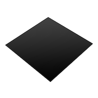 Silicone Rubber Pre-Cut Mat (Black, FDA) 5mm x 600mm x 600mm (60 Duro)