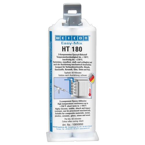 Easy-Mix HT-180 High Temperature Epoxy Adhesive - 50ml