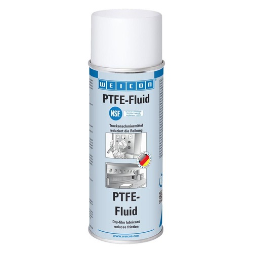 PTFE Fluid Spray – Dry Lubricant, NSF Approved - 400ml