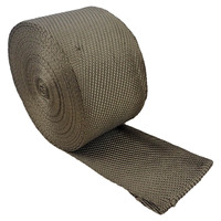 Basalt Insulation Tape - 1.6mm Thick x 100mm Wide x  5 Metres