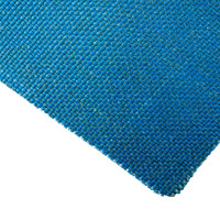 Blue Vertex Coated Fibreglass Cloth - 0.8mm Thick x 1000mm Wide, Per Metre
