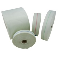Vidatape C Woven Fibreglass Electrical Tape - 0.18mm x  75mm x 50Mtrs (No Centre-Line)